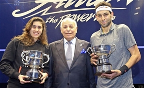 Egyptians Dominate Over 50% of the World's Top 10 Squash Rankings