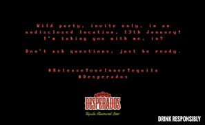 Desperados is Putting Us on a Bus and Taking Us to a Secret Party