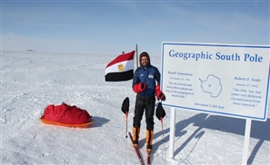 Omar Samra Gets to Name 3 Antarctica Mountains After Becoming First Person to Ever Climb Them