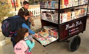 The Book Bike: Cairo's Newest Bookshop on Wheels