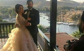 20 Insanely Fabulous Celebrity Photos from Kinda Alloush and Amr Youssef's Wedding