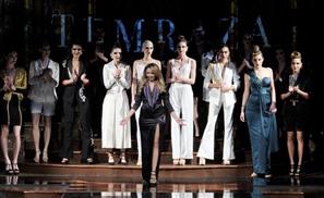 Egyptian Designer Farida Temraz Just Killed It at New York Fashion Week AND The Grammys