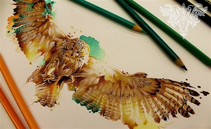 Cairo Tattoo Parlour Hosts Master Brazilian Watercolour Artist Lucas Vareta