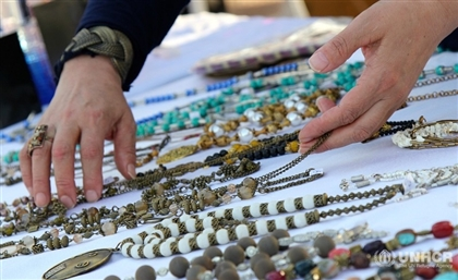 UNHCR Unites Refugee and Egyptian Women to Showcase their Incredible Crafts at the Greek Campus