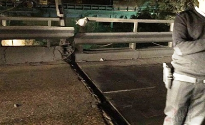 Cairo's Traffic Authorities Shut Down Tora Bridge Due to Massive Crack