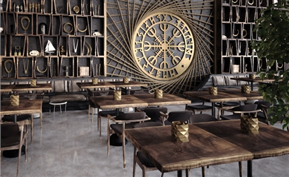 Viking's Seriously Cool New Mall of Egypt Branch Brings Back Ancient Interior Furnishings