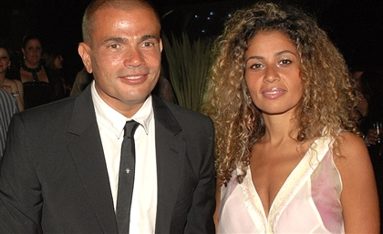 Amr Diab's Wife Unfollows Him From Instagram and Deletes All of Their Pictures
