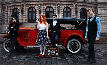Electro-Swing Czech Band Mydy Rabycad to Play at Cairo Jazz Club with Safi and Sotsura