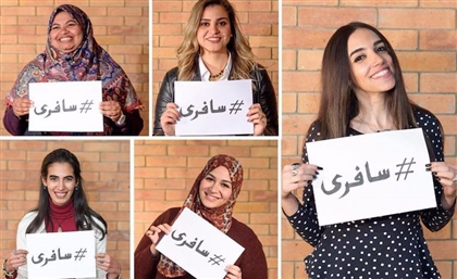 This New Campaign by Hezaha Weh Safer Is Encouraging Egyptian Women to Travel the World
