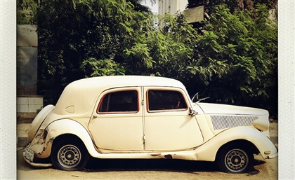 14 Stunning Photos of Cairo's Abandoned Cars by Legendary Celebrity Photographer Steve Double