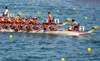 Egypt's First Dragon Boat Academy Holds Racing Competition in Cairo This Month