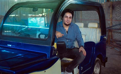 Meet The Entrepreneur from Kerdasa Who Created Egypt's First Locally Made Tuk-Tuk