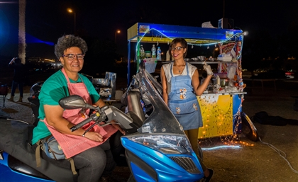 Meet the 2 Egyptian Biker Girls Who Just Opened Cairo's Freshest Foul Cart