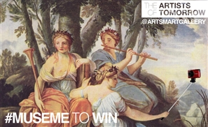 Be Arts-Mart's Muse and Win a Portrait!