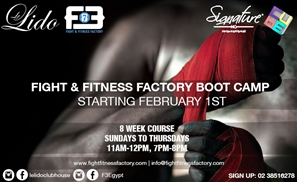 Fight & Fitness Factory Boot Camp Hits Le Lido