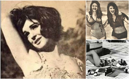 7 Vintage Photos of Egyptian Actresses in Swimwear That Redefines Beach Glamour