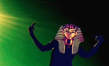 Meet the Pharoah Masked Mystery 'Rave Bass' Producer Rozzma