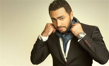 Tamer Hosny Becomes the First Egyptian to Have his Handprint at Hollywood's Iconic Chinese Theatre