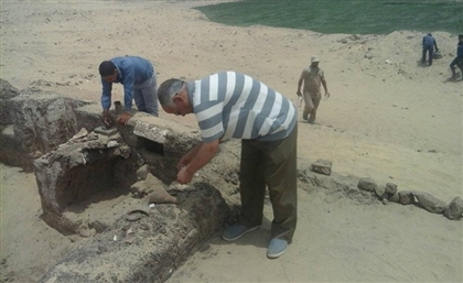 A 1,500-Year-Old Coptic Complex Was Just Excavated in Minya