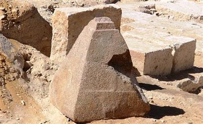 4000-Year-Old Pyramid Peak Unearthed in Saqqara