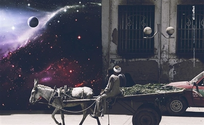 Stunning New Art Project Visualises Scenes from Everyday Egypt in Outer Space