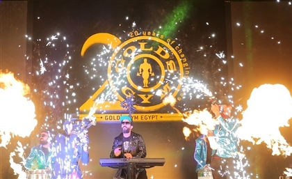 Gold's Gym Launches the First Gold's Studio Outside the US Here in Egypt