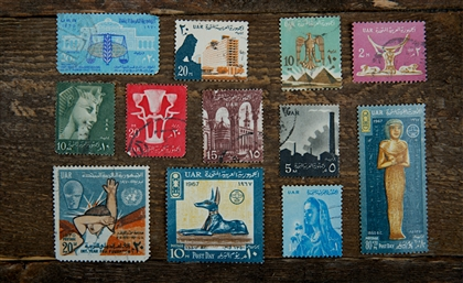 I Went Through My Grandpa's Closet and Found an Egyptian Stamp Collection Spanning 7 Decades