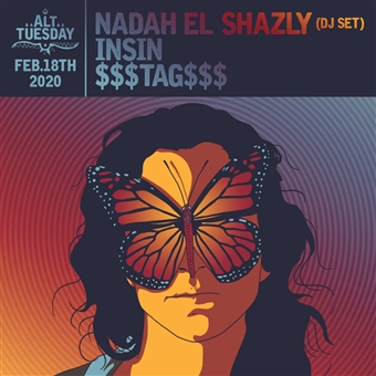 Nadah El Shazly (DJ Set) / INSIN / TAG @ Cjc