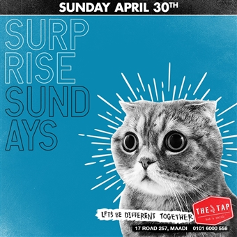 Surprise Sundays @ The Tap Maadi