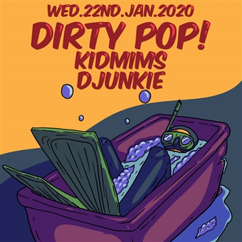 Dirty Pop! ft. Kidmims; / DJunkie @ CJC