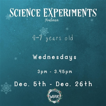 Science Experiments @ Sane