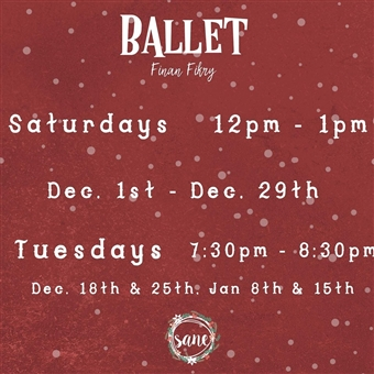 Ballet for Adults @ Sane