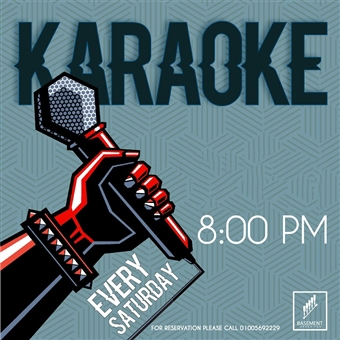 Karaoke Night @  Basement