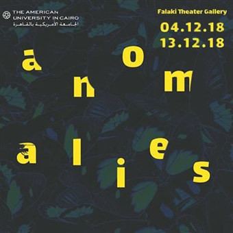 'Anomalies' @ AUC Falaki Theater & Gallery