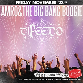 Amro & The Big Bang Boogie/Feedo@ The Tap West