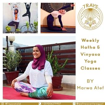Hatha & Vinyasa Yoga Class with Marwa Atef