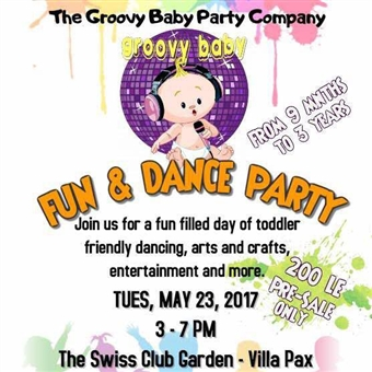 Groovy Baby Fun & Dance Party @ Swiss Club