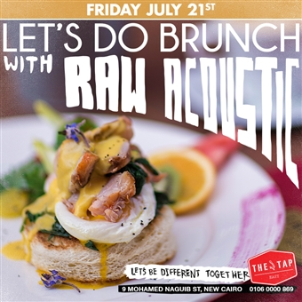 Brunch W/ Raw Acoustic @ The Tap East