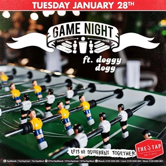 Game Night Ft. Doggy Dog @ The Tap West