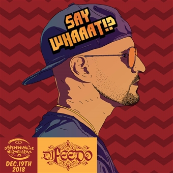 Say whaaat FT. DJ Feedo @ Cairo Jazz Club