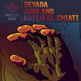 zeyada, juno & hatem el chiati @ cjc