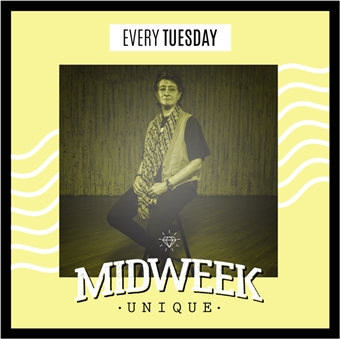 Midweek Unique Ft. DJ Dina @    Underground