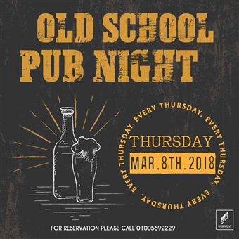 Old School Pub Night @ Basement