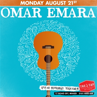 Omar Emara @ The Tap Maadi