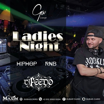 Ladies Night ft. DJ Feedo @ Gŭ Bar