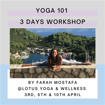 Yoga 101 By Farah Mostafa