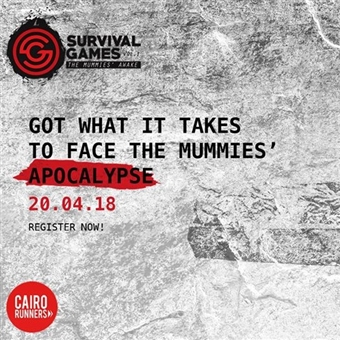 Cairo Runners Survival Games @ Villette Sodic