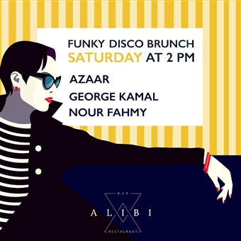 Funky Disco Brunch @ ALIBI