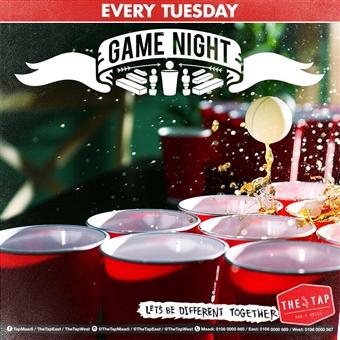 Game Night @ The Tap Maadi