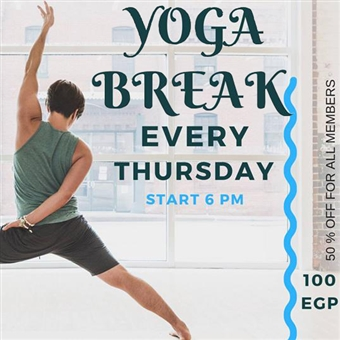 Yoga Break Thursdays @ Coursida